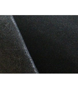 Soft mediumweight fusible woven interlining - black
