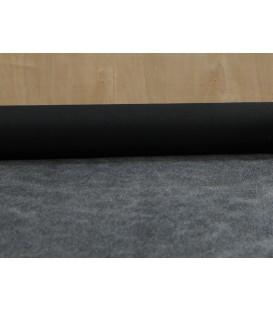 Stiff fusible woven interfacing - black